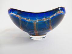 Beautiful Orrefors Sven Palmqvist Ravenna Glass Bowl
