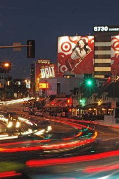 Sunset Strip is a Landmark in Los Angeles. Plan your road trip to Sunset Strip in CA with Roadtrippers. California Love, Los Angeles California, California Travel, Places To Travel, Travel Destinations, Las Vegas, Sunset Strip, West Hollywood, Santa Monica