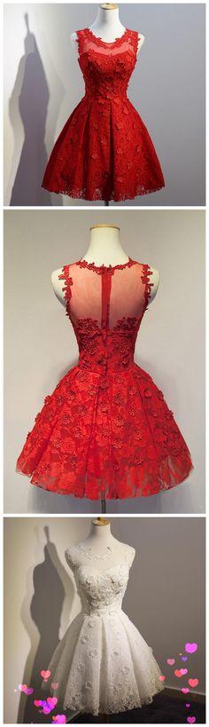 Short Homecoming Dress,Charming Hom