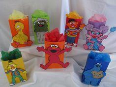 Sesame Street Party Goody Bags LARGE by DreamComeTrueParties, $35.00