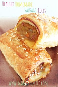 Thermomix Sausage Rolls – so simple and yet so yummy!bakeplaysmile… Thermomix Sausage Rolls – so simple and yet so yummy! Thermomix Sausage Rolls, Healthy Sausage Rolls, Homemade Sausage Rolls, Sausage Roll Recipes, Homemade Rolls, Healthy Sausage Recipes, Homemade Recipe, Hidden Vegetables, Tandoori Masala