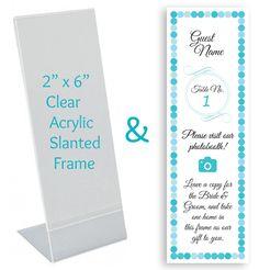 sayings for insert in photobooth frame favors