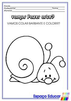 Atividades para Educação infantil: Artes! ~ ESPAÇO EDUCAR
