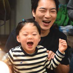 Manse x Appa Ulzzang Kids, Ulzzang Korean Girl, Asian Kids, Asian Babies, Song Il Gook, Triplet Babies, Minions, Superman Kids, Song Daehan