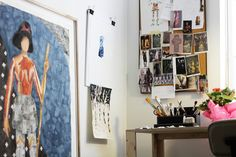 "For large-scale watercolor painter Keri Oldham, a years-long devotion to discovering and uplifting the work of local emerging artists in New York City led to a new discovery altogether: the evolution of her own work. ""In 2011, I co-founded Field Projects gallery, a small p..."