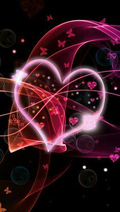 Heart And Butterfly Wallpaper Love Wallpaper For Mobile Wallpaper App Iphone S Wallpaper
