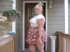 Cute Skirt Summer Floral Fun PlusSize