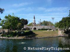 Heritage Park Play Island in Cerritos
