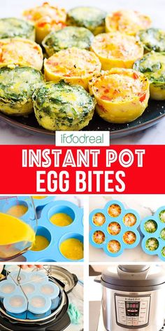 These Instant Pot Egg Bites make healthy breakfast on-the-go easy. They are copycat Starbucks sous vide egg bites with one main ingredient and same fluffy with no blender. Be ready to be blown away… Starbucks Sous Vide Eggs, Starbucks Egg Bites, Instant Pot Pressure Cooker, Pressure Cooker Recipes, Egg And Grapefruit Diet, Egg Bites Recipe, Instant Pot Dinner Recipes, Healthy Family Meals, Family Recipes