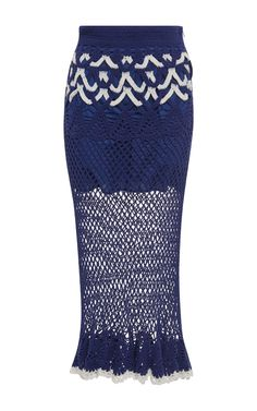 It'S My Turn Cotton Crochet Skirt by ALICE MCCALL Now Available on Moda Operandi