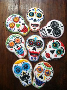 Bo's Day of the Dead Cookies   by Cookies by Bo