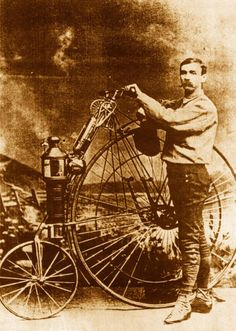 Steam Powered Bicycle