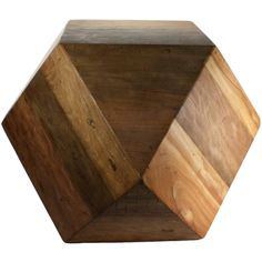 Icosahedron Wood Block Large from FROY