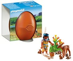 PLAYMOBIL Native American Girl with Forest Animals Playset PLAYMOBIL®
