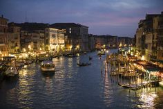 Italy canal