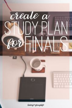 "Happy finals time, friends! It's time to start prepping for getting those A's. Starting early is the easiest way to ensure success. You may be thinking that ""Oh, finals are a few weeks away. What's there to worry about?"" Finals are going to sneak up on you way faster than you think. I have my …"