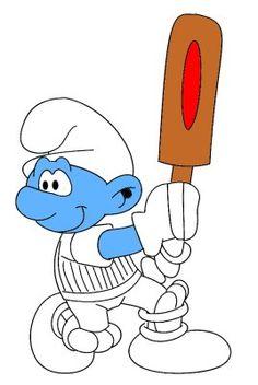 Cricket Smurf