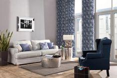 Obývačka - kolekcia tkanín Venice    #zavesy#obyvacka#vankuse#potahnasedacku#IKEA Sofa, Couch, Cushions, Curtains, Contemporary, Furniture, John Travolta, Cliff, Home Decor