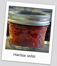 Egy kanál cukor: Harissa szósz házilag Cukor, Chili, Salsa, Jar, Food, Cilantro, Red Peppers, Chile, Essen