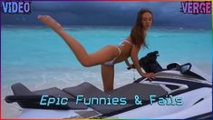 Some fun moments in the water - What could go wrong? * Please submit your clips to our e-mail & have a chance to be featured in a future video with credit to. Future Videos, Videos Please, Funny Fails, Some Fun, Social Media, In This Moment, Water, Instagram, Gripe Water