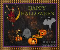 I uploaded new artwork to plout-gallery.artistwebsites.com! - 'Happy Halloween-RIP' - http://plout-gallery.artistwebsites.com/featured/happy-halloween-rip-jean-plout.html via @fineartamerica
