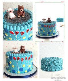 © Mary Das, Cake Thérapie Smash cake.