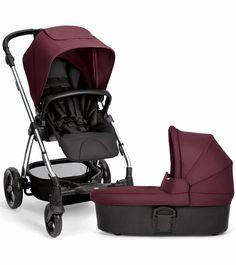 Mamas & Papas Sola 2 Chrome Stroller & Carrycot - Mulberry