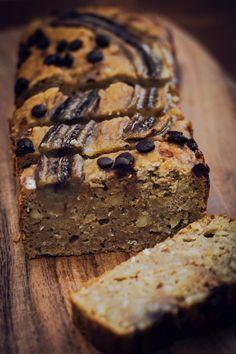 Gesundes Bananen Brot - Banana Cake Bread - jasmins a good life - Brot + Semmeln(salziges Gebäck) Healthy Banana Bread, Healthy Cake, Banana Bread Recipes, Vegan Cake, Healthy Baking, Cake Recipes, Paleo Vegan, Healthy Food, Paleo Dessert