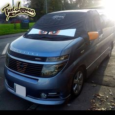 UK Fuel Lagoon screen cover for the Japanese import Nissan Elgrand Creating a black out for you when camping Nissan Vans, Nissan Elgrand, Angry Eyes, Custom Screens, Japanese Imports, Fun Prints, Bag Storage, Blinds, Custom Design