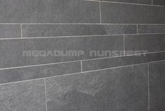 Strook tegels set van 5 x 60, 10 x 60 en 15 x 60 cm.