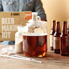 Williams-Sonoma has a selection of gifts for DIYers. Find gifts the DIYer that are sure to please any DIY enthusiast at Williams-Sonoma. Williams Sonoma, Beer Brewing, Home Brewing, Brew Shop, Wine Making Kits, Making Beer, Homemade Beer, Brew Your Own, Gifts For Beer Lovers