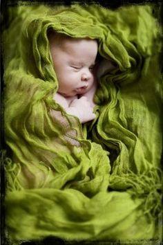 scarf newborn pic