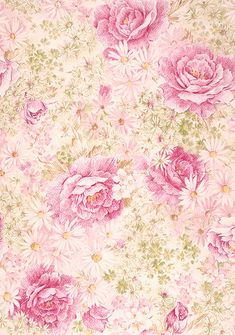 ~Sharing shabby sweetness~ ~Pictures belong to their respective owners. Papel Vintage, Decoupage Vintage, Vintage Diy, Vintage Paper, Background Vintage, Background Patterns, Rose Background, Vintage Frames, Fabric Wallpaper