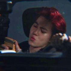 Kim Junmyeon, Suho Exo, What Is Life About, Red Hair, Kpop, Shit Happens, Aesthetics, Husband, Beautiful Images