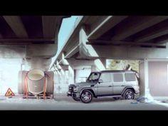 """Mercedes-Benz TV: G-Class commercial """"Parking"""""""