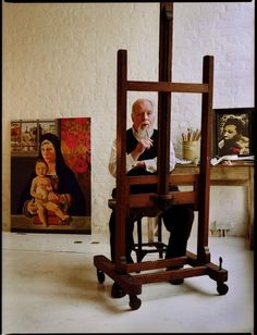Peter Blake by Barry Lewis
