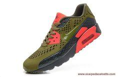 scarpe da calcetto Oliver Verde Rosso Nike Air Max 90 Ultra BR 504658-293