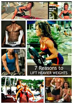 STRONG IS SEXY. Lift heavier weights can help you: Torch Fat. Reduce Belly Fat. Click to read all Super 7 Reasons for men and women to lift heavier weights.