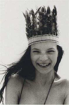 Happy Four O Kate Moss / Shot by Corinne Day