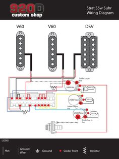 Precision Bass Wiring Diagram Rothstein Guitars %e2%80%a2 Serious Tone For The Player Vintage Air 15 Melhores Imagens De Fender S1 Guitar Building E Kit Includes 1 5 Way Super Switch 2 Cts 250k Ohm Split Shaft