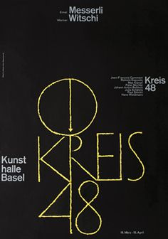 Hofmann, Armin poster: Kreis 48