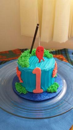 Fish smash cake