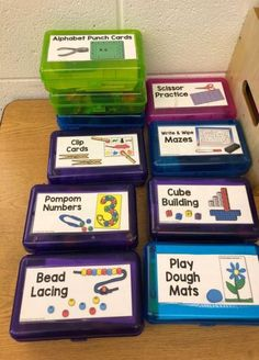 I created this pin. These are some fine motor activities that my mom(Mrs. Rose) … I created this pin. These are some fine motor activities that my mom(Mrs. Rose) uses in her classroom. I think that these activities can also be very calming ones that I wou Preschool Learning Activities, Classroom Activities, Classroom Organization, Kids Learning, Preschool At Home, Organization Ideas, Quiet Time Activities, Classroom Ideas, Fine Motor Skill Activities
