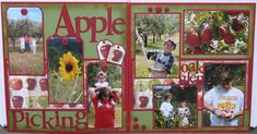 Apple Picking - Scrapbook.com