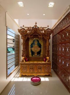 A Pooja Room Is A Place For Solace, A Place For Meditation, A Place For You  To Escape From The Grind Of Daily Routine To Concentrate Your Mind Onto ... Part 33