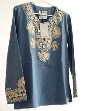 ZARA Woman BNWT Blue Embroidered Ethnic Denim Kaftan Blouse Top XS S 7521/040  $50.43    End Date:  Apr-27 07:13   Buy It Now for only: US $50.43  Buy it now    |  http://bayfeeds.com/ebayitem.php?i=172013681567&u=3464&f=3228