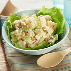 The Original Potato Salad.  Works with plain vinegar or apple cider vinegar depending on taste you prefer.
