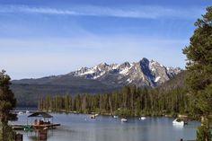 Redfish Lake, Redfish Lake Lodge in Stanley, Idaho