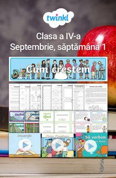 Idei, fișe de lucru, materiale didactice, jocuri, prezentări PPt interactive etc., pentru toate disciplinele clasei a IV-a, care pot fi utilizate și aplicate în prima săptămână de școală.  #septembrie #nouanscolar #ideiprimasaptamana #activitatiseptembrie #clasaaIV-a #clasaIV #clsa4a #cls4 #ideiactivitățiseptembrie #fiseseptembrie #jocurididactice #jocuri Map, Location Map, Maps