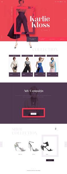 Fashion Butique Concept eCommerce Website,